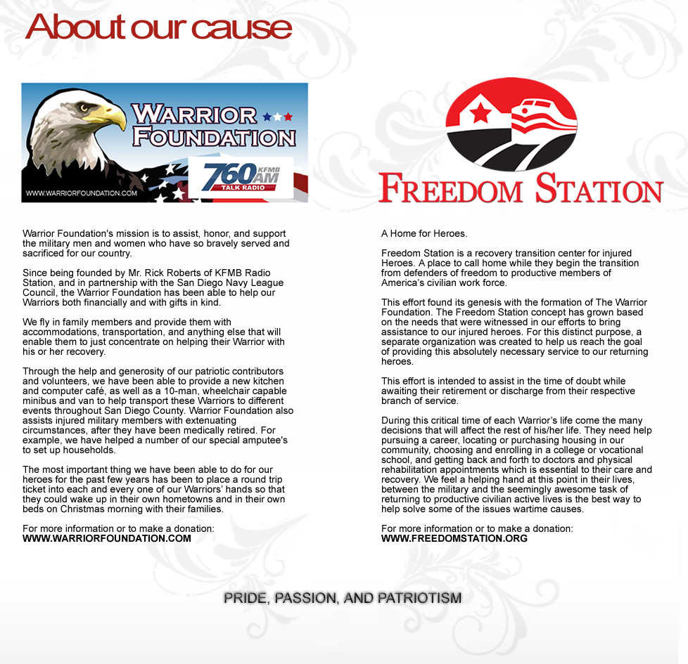 Warrior Foundation - Freedom Station